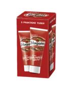 """Perfekt til turen eller ved siden av matpakken. Nugatti Original er laget av blant annet kakao, melk og hasselnøtter; som gir den gode unike Nugatti-smaken. Smaken har vært på markedet siden 1969, men representerer fortsatt """"Matlyst på boks"""" like sterkt som alltid!"""