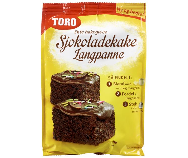 Toro sjokoladekake nøtter