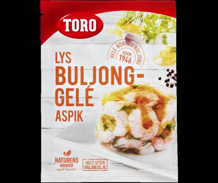 TORO Lys buljong Aspik gelé  21 g