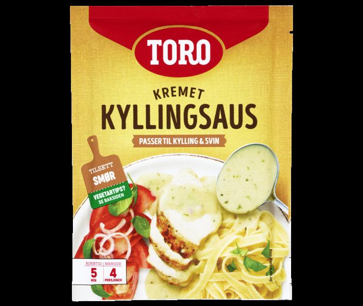 TORO Kremet kyllingsaus med basilikum og sjalottløk  36 g