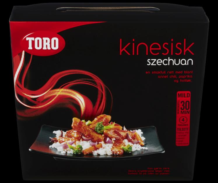 TORO Kinesisk szechuan kit  464 g
