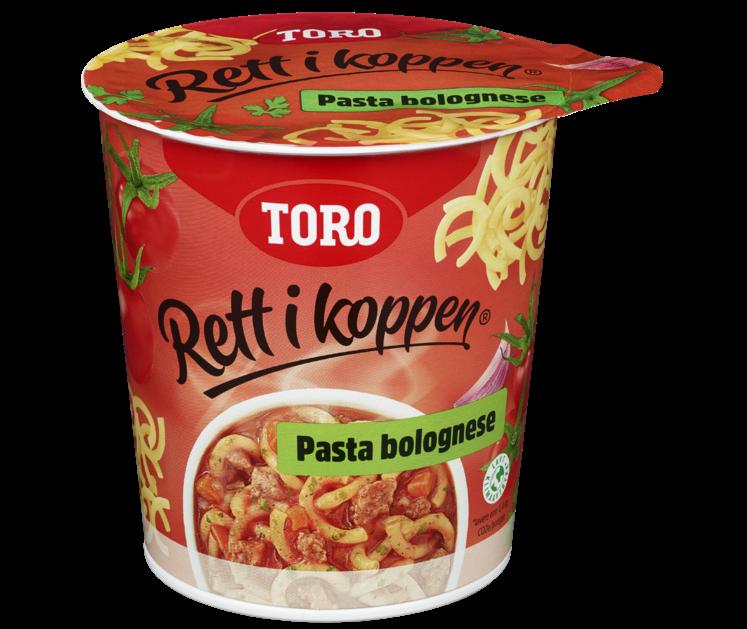 TORO Rett i koppen Pasta Bolognese 65 g