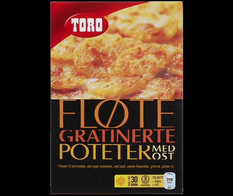 TORO Fløtegratinerte poteter med ost  105 g