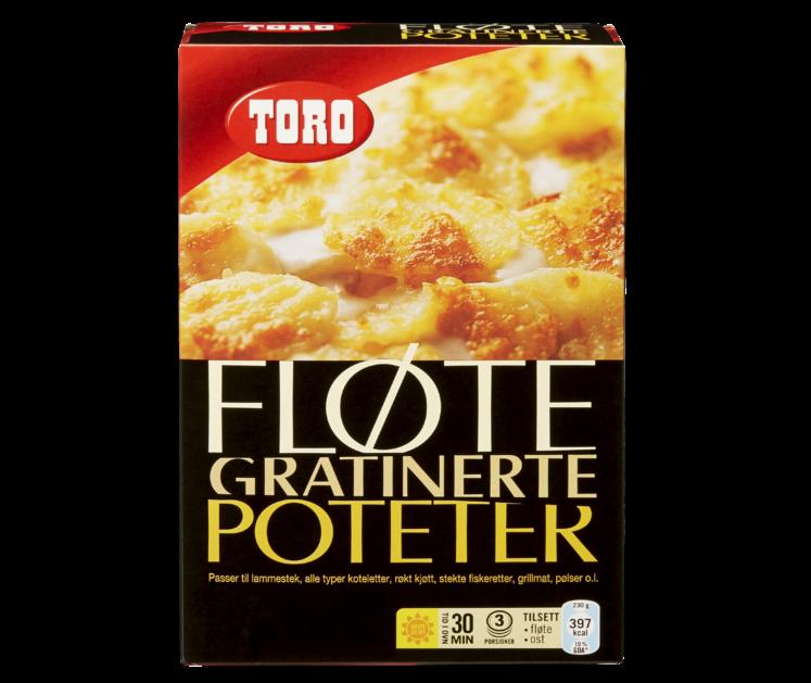 TORO Fløtegratinerte poteter  104 g