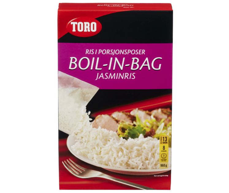 TORO Jasminris boil in bag 960 g