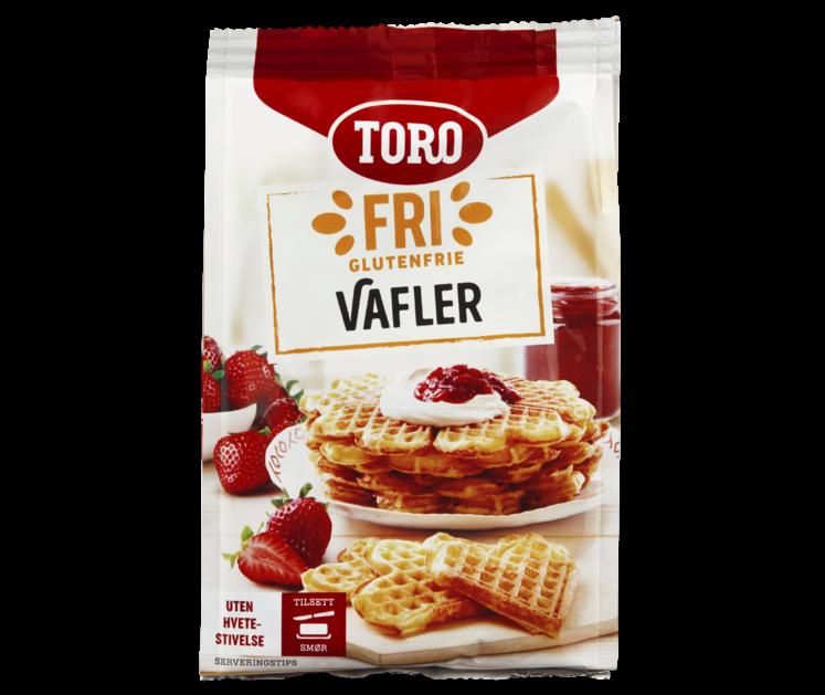TORO Fri Glutenfrie Vafler 242 g
