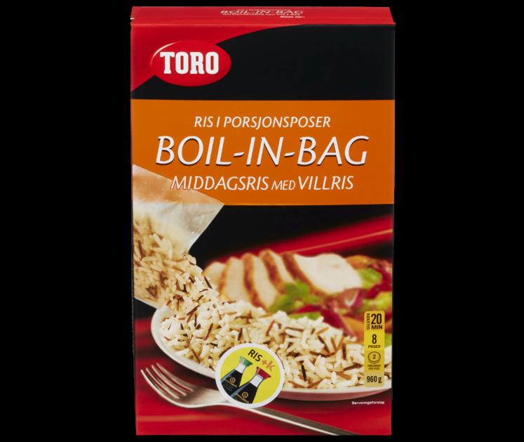 TORO Middagsris med villris boil in bag 960 g