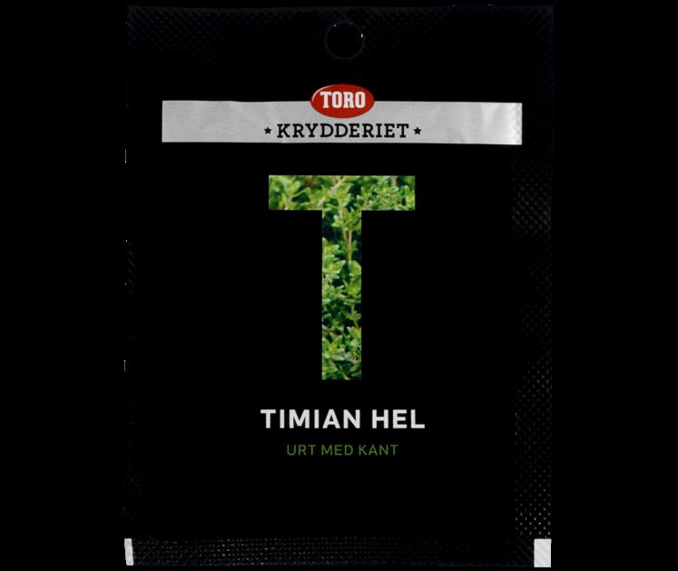 TORO Krydderiet Timian hel  6 g