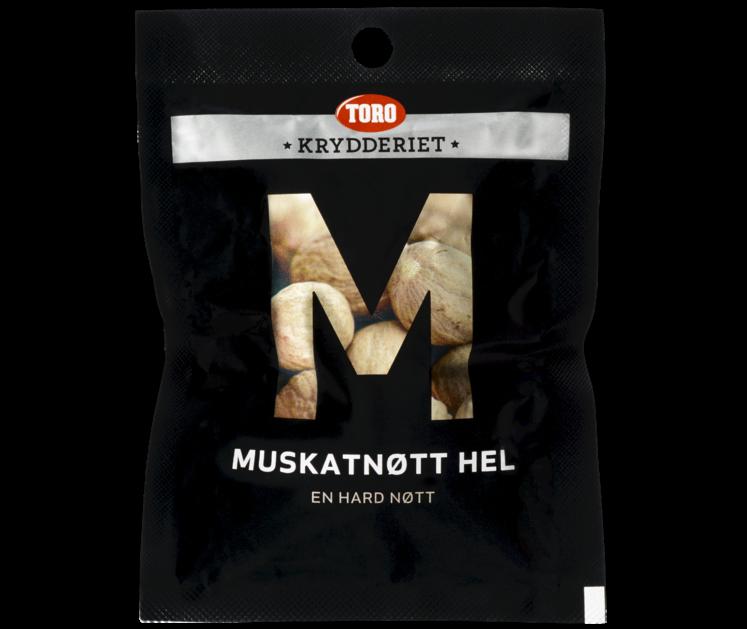 TORO Krydderiet Muskatnøtt hel  12 g