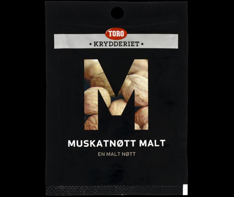 TORO Krydderiet Muskatnøtt malt  10 g