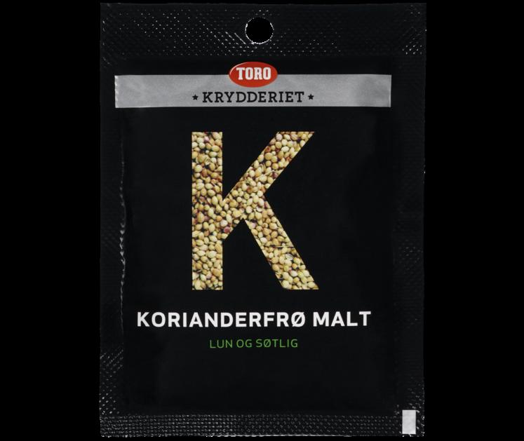 TORO Krydderiet Koriander malt  20 g