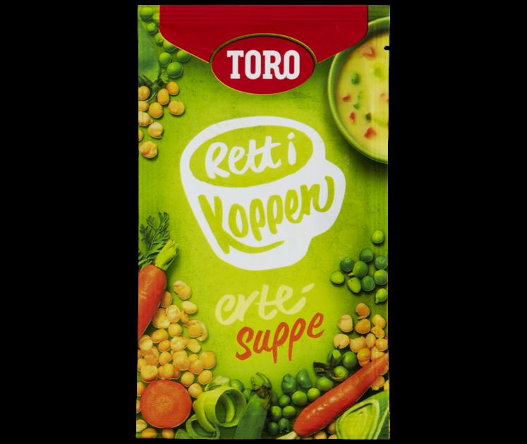TORO Rett i koppen Ertesuppe  27 g