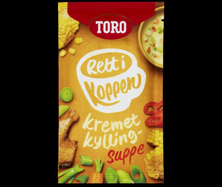 TORO Rett i koppen Kremet kyllingsuppe  23 g