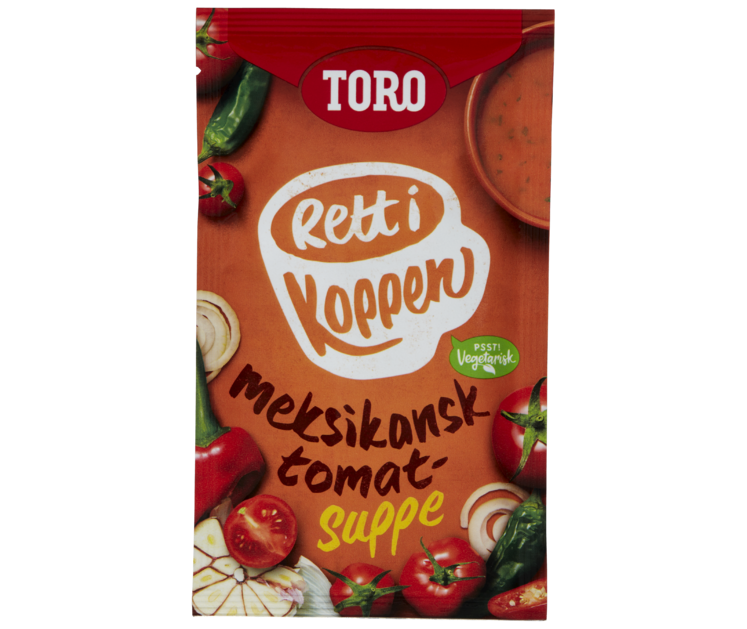TORO Rett i koppen Meksikansk tomatsuppe  28 g
