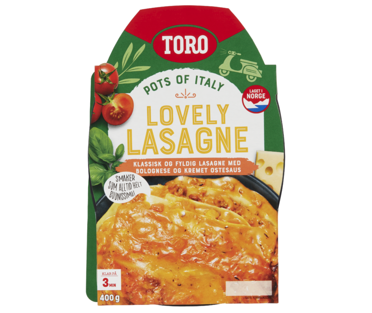 TORO Lovely Lasagne 400 g