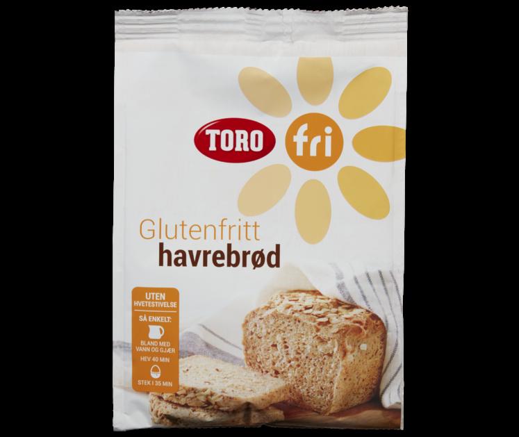 TORO Fri Havrebrød glutenfri  409 g