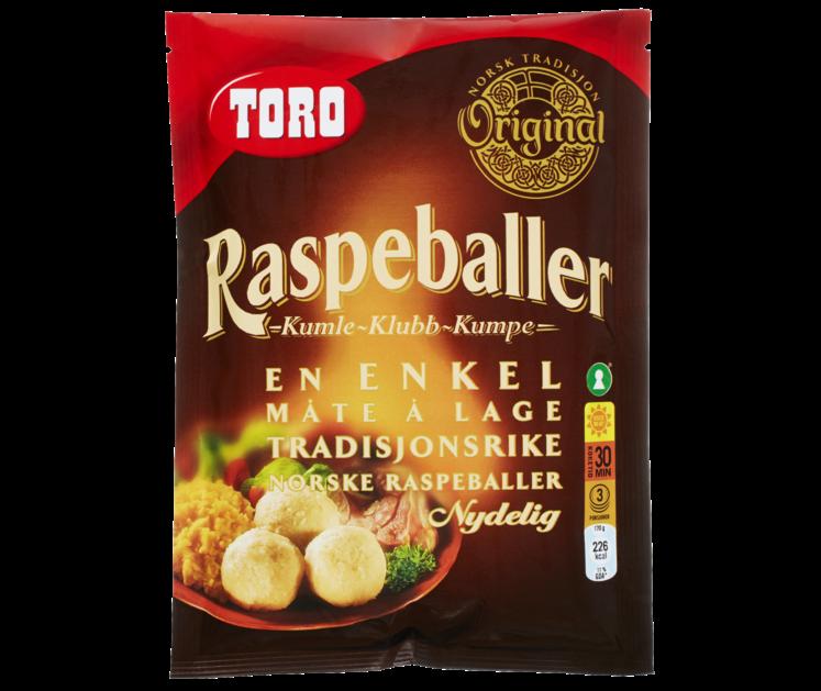 TORO Raspeballer  206 g