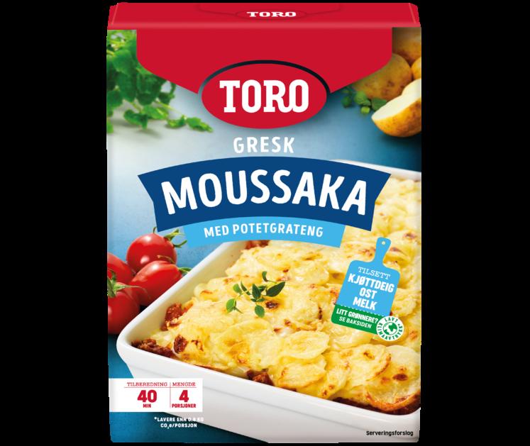 TORO Gresk moussaka 136 g