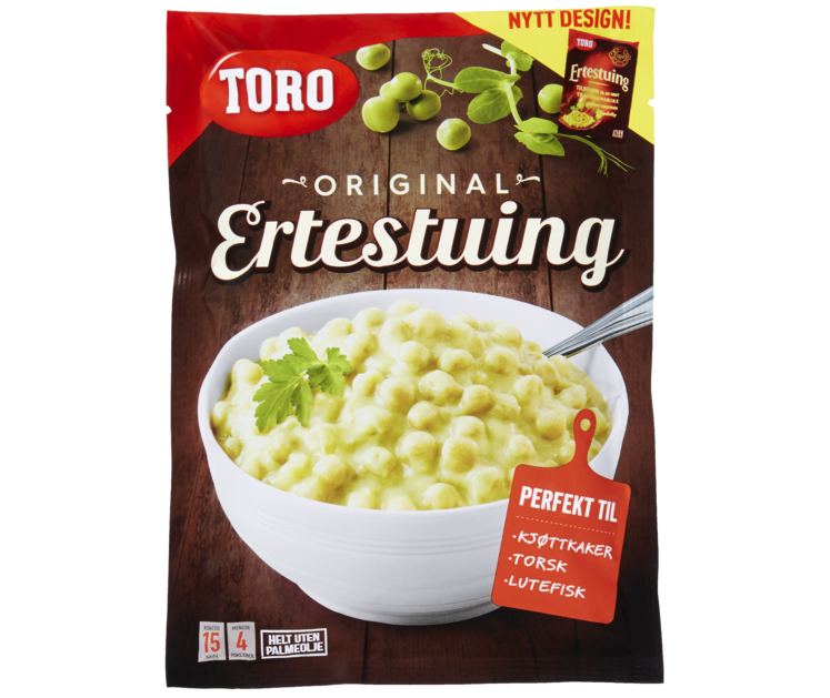 TORO Ertestuing   167 g