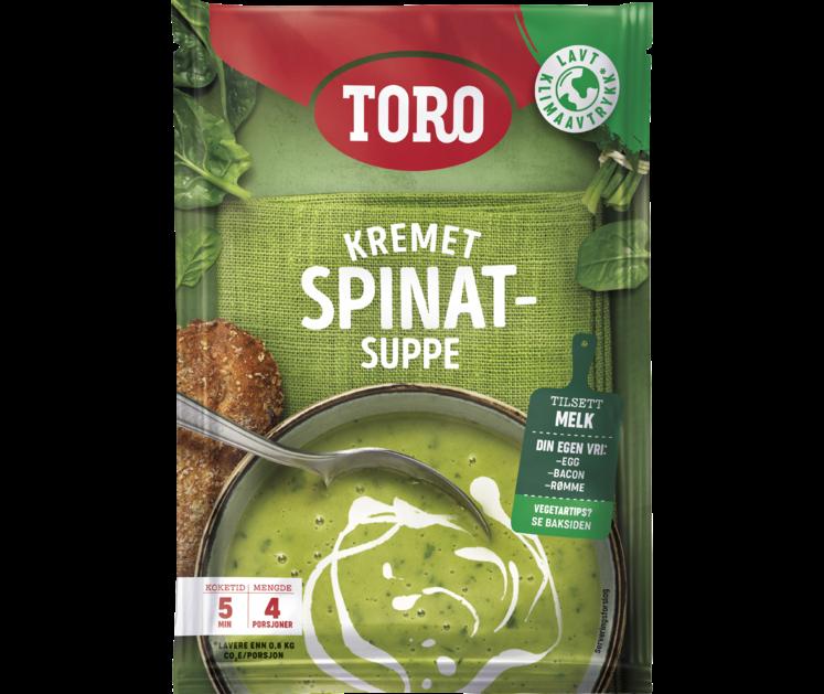 TORO Kremet spinatsuppe  85 g