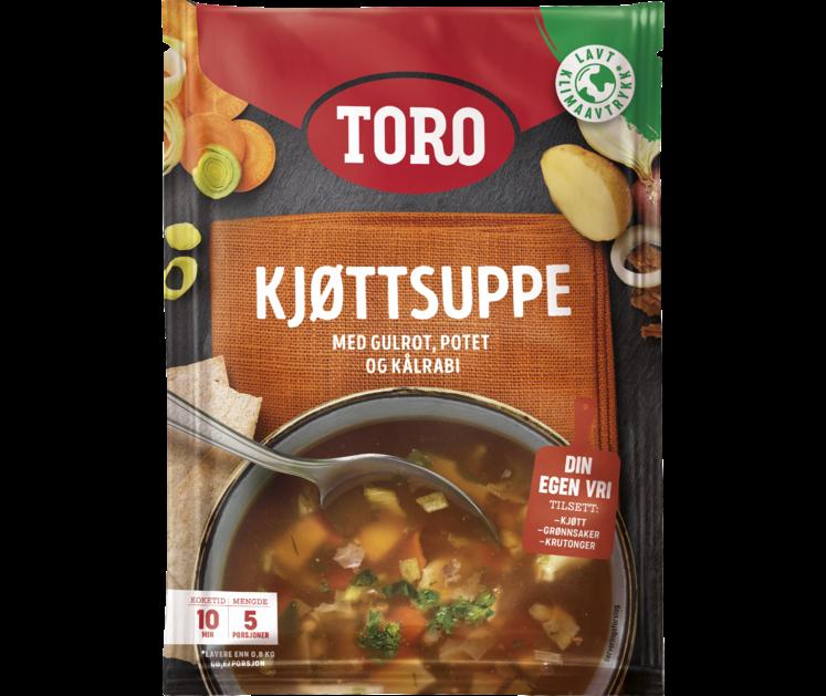 TORO Kjøttsuppe med grønnsaker   84 g