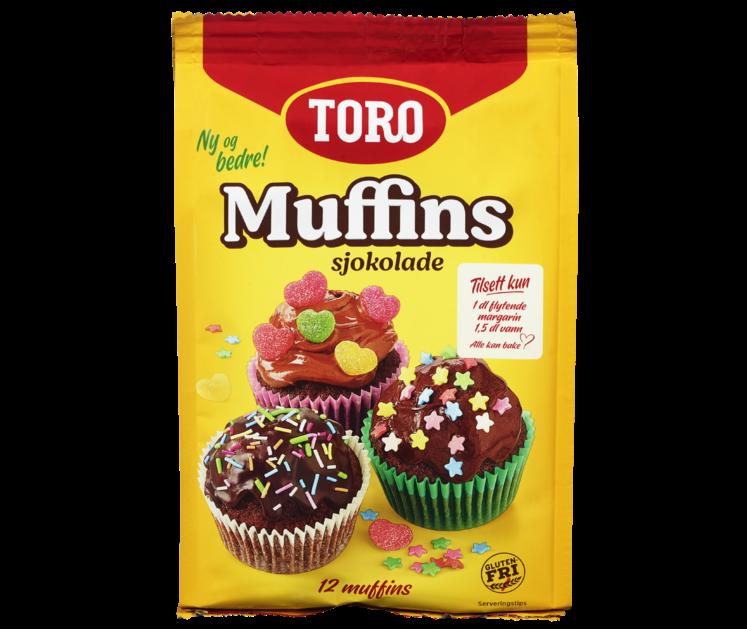 TORO Sjokolademuffins  338 g