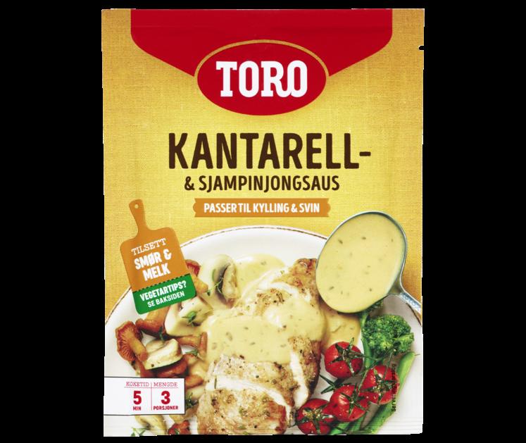 TORO Kantarell- & sjampinjongsaus  23 g