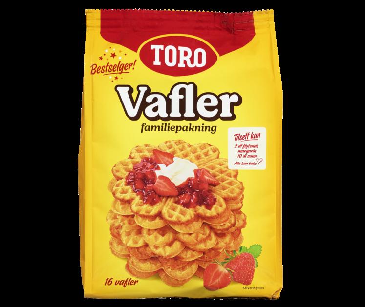 TORO Vafler familiepakning  591 g