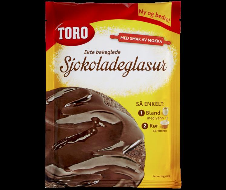 TORO Sjokoladeglasur 140 g