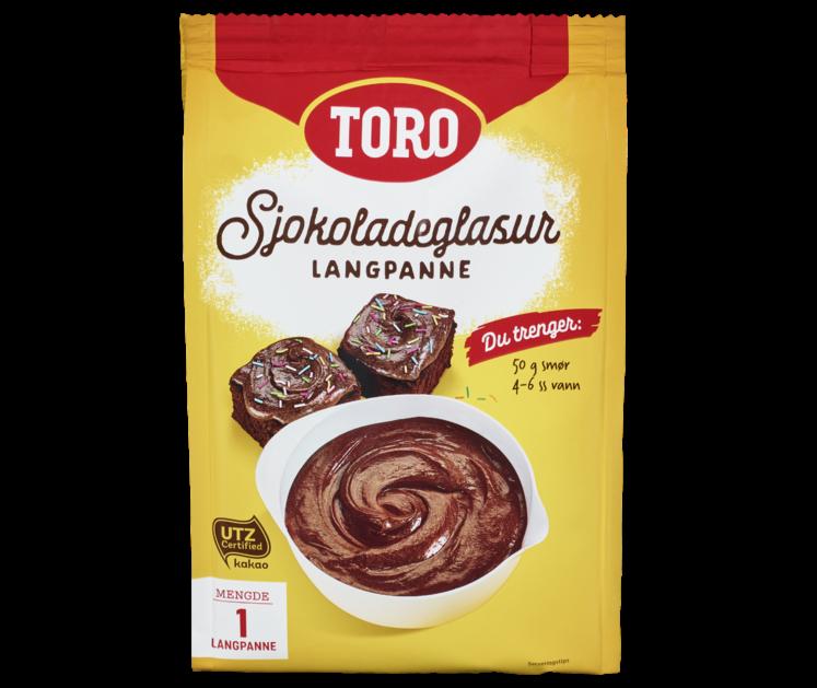 TORO Sjokoladeglasur langpanne  278 g