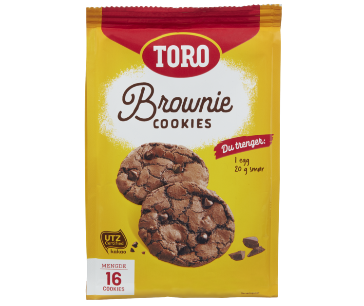 TORO Brownie Cookies  290 g