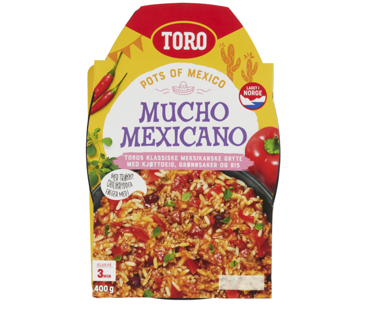 TORO Mucho Mexicano 400 g