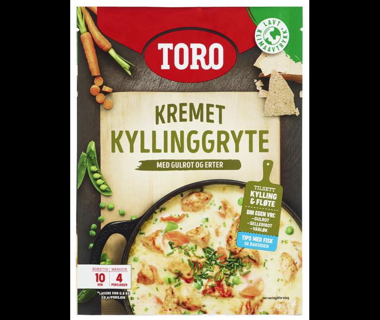 TORO Kremet kyllinggryte  88 g