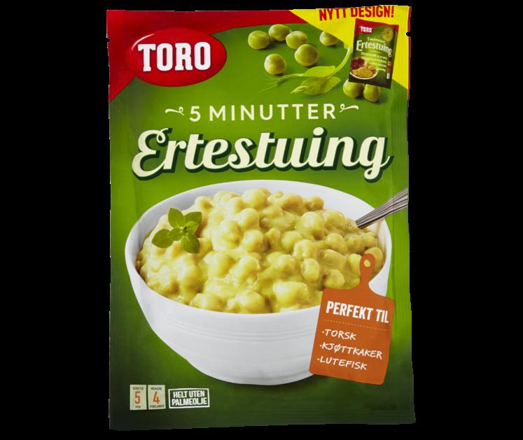 TORO Snarkokt ertestuing  164 g