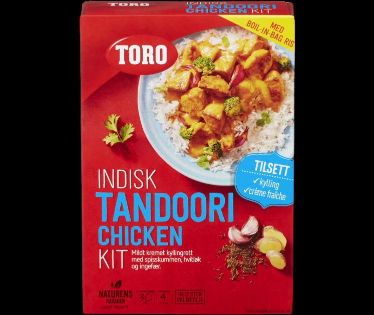 TORO Indisk tandoori chicken kit  290 g