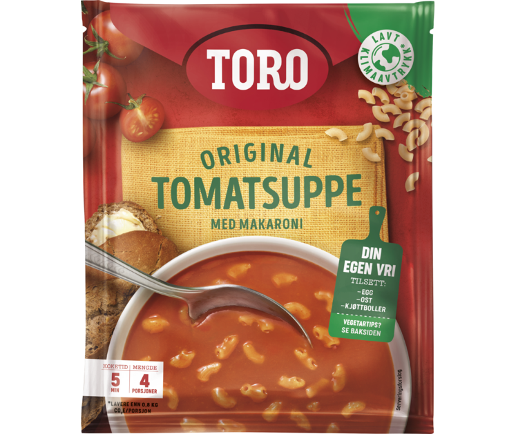 TORO Original tomatsuppe med makaroni  119 g
