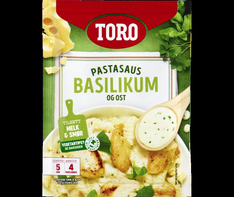 TORO Pastasaus basilkum og ost  32 g