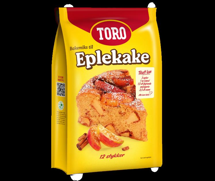 TORO Eplekake 384g