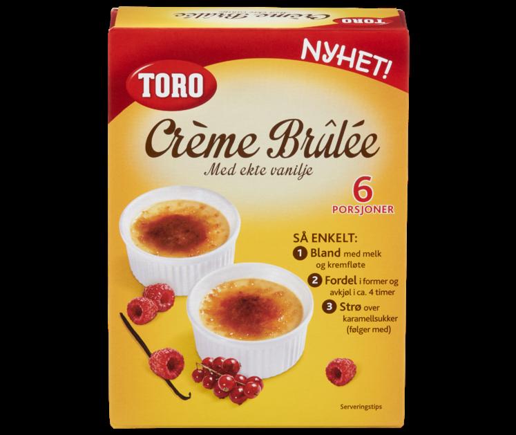 TORO Crème brûlée  130 g