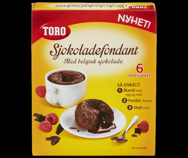 TORO Sjokoladefondant 232 g