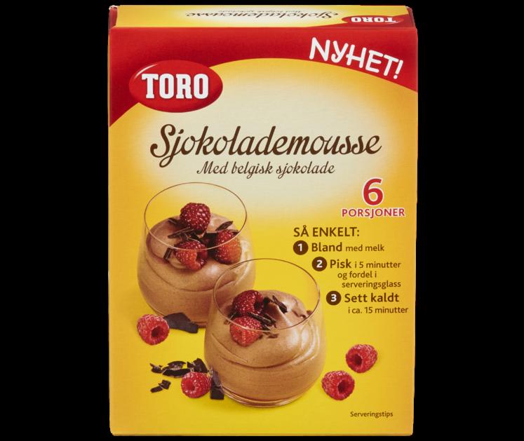 TORO Sjokolademousse 94 g
