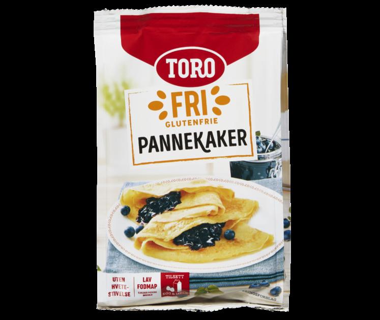 TORO Fri Glutenfrie Pannekaker 187 g