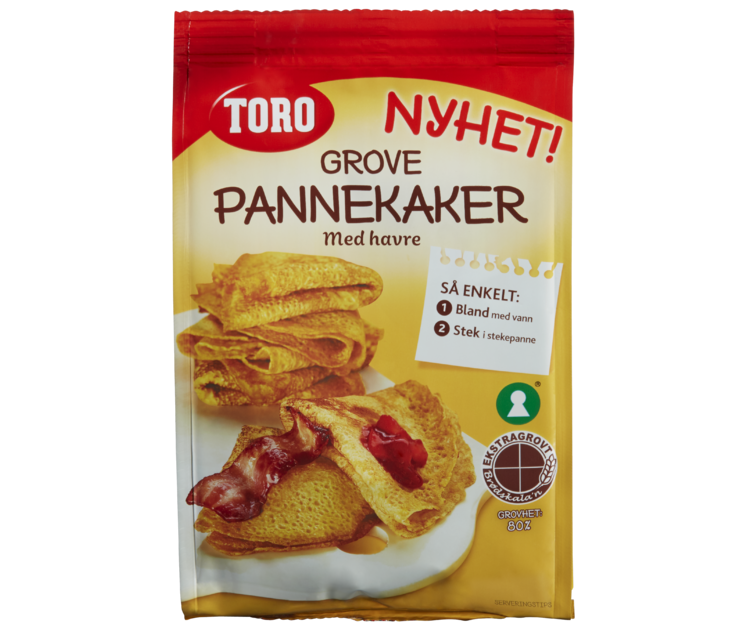 TORO Grove Pannekaker 200 g