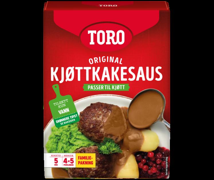 TORO Kjøttkakesaus familiepakning  180 g
