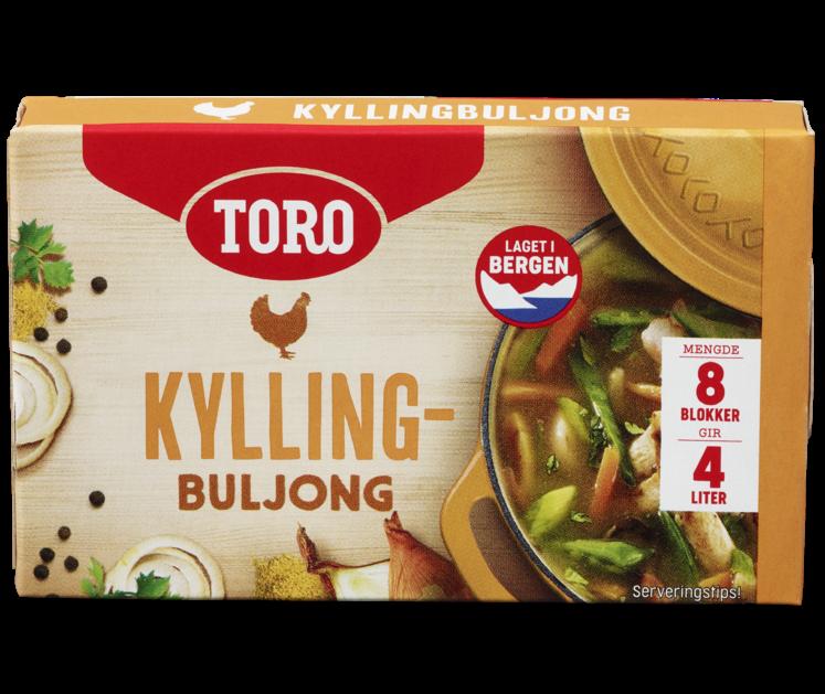 TORO Kyllingbuljong blokk 80g