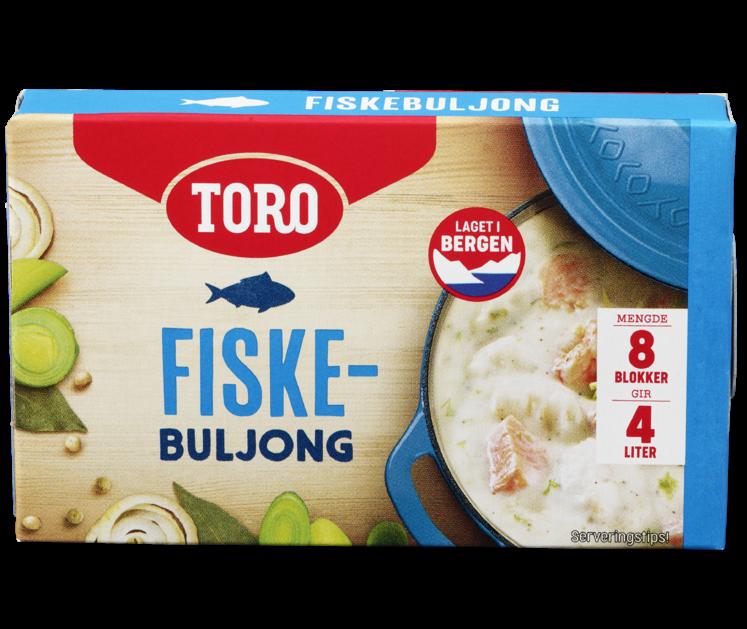 TORO Buljong Blokk Fisk 88g
