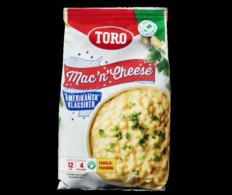 TORO Mac'n Cheese familiepakning 292 g