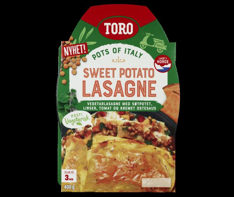 TORO Sweet Potato Lasagne 400 g