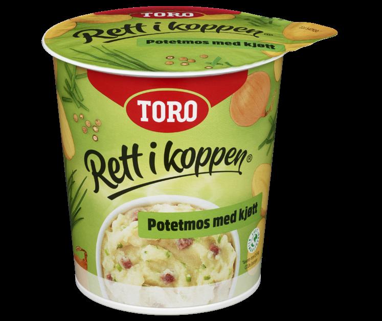 TORO Rett i koppen Potetmos med Kjøtt 53g