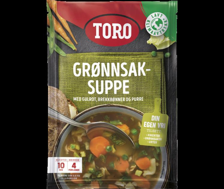 TORO Grønnsaksuppe 47g